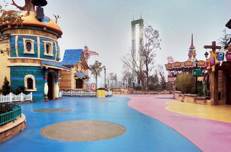 Xi'an Le Hua Cheng Happy World Theme Park